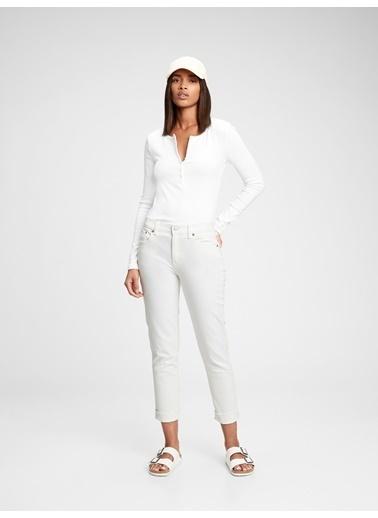 Gap Jean Pantolon Beyaz